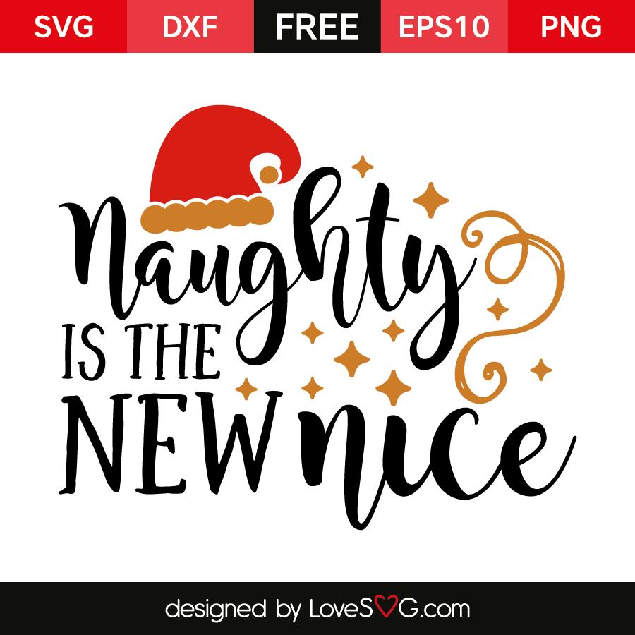 Naughty is the new nice.