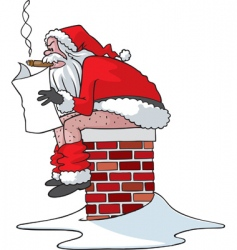 Naughty Santa Claus Vector Images (34).
