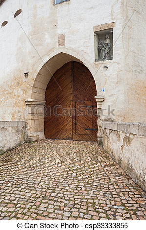 Stock Images of Marientor, Naumburg (Saale).