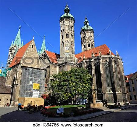 Stock Images of Cathedral, Naumburg, Saxony.