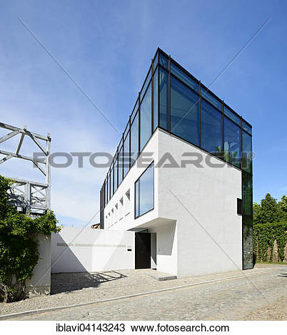Stock Photo of Nietzsche Documentation Centre, Naumburg.