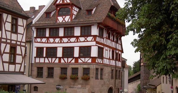 Nürnberg: Albrecht Dürer Haus.