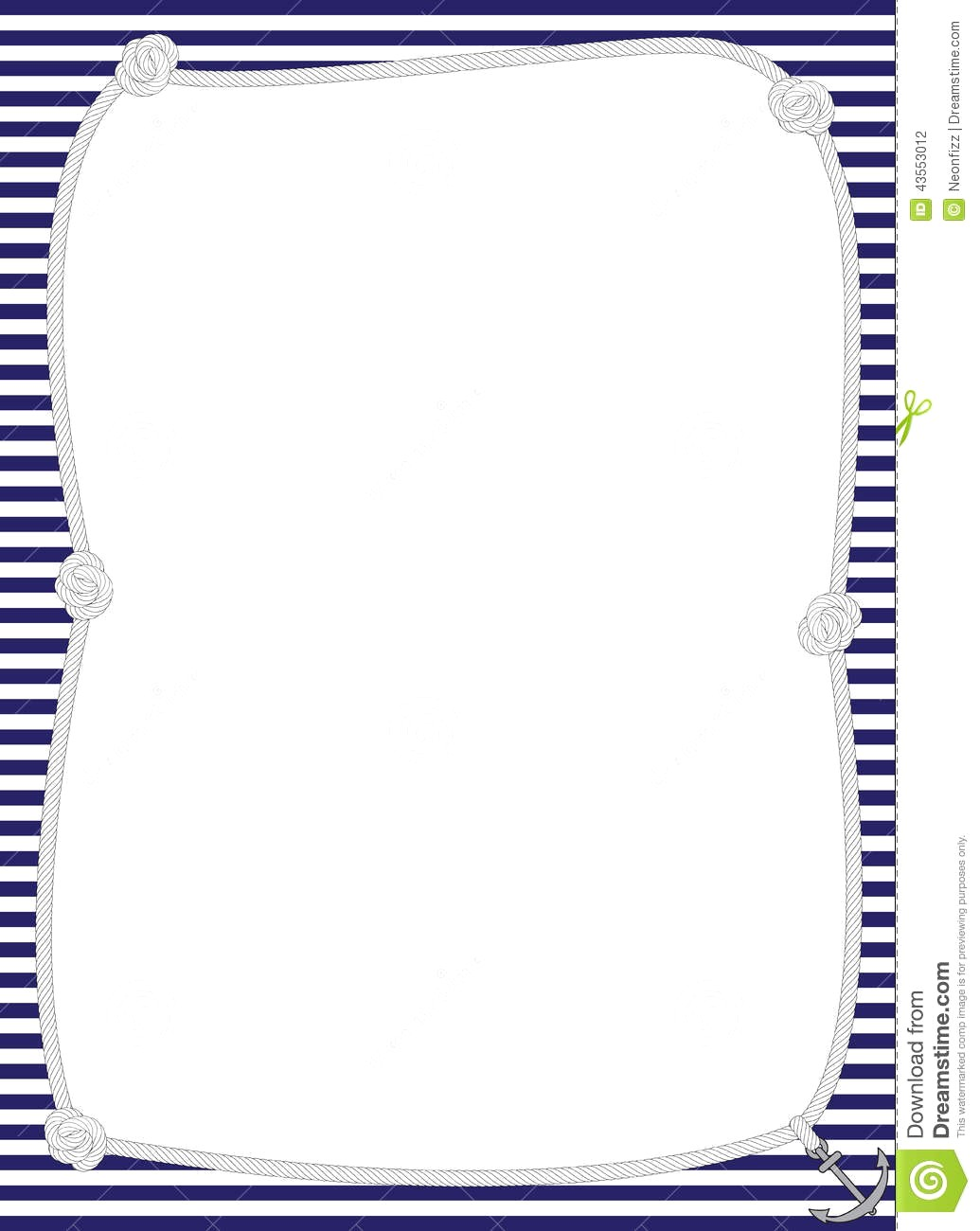 Nautical border clipart 1 » Clipart Station.