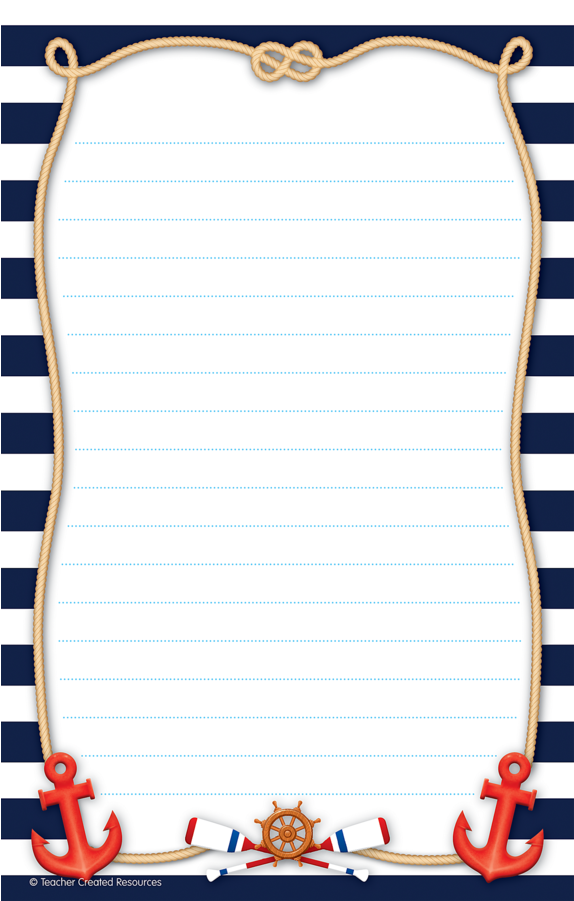 Download Tcr8887 Nautical Notepad Image.
