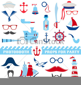 Free Nautical Christmas Clipart.