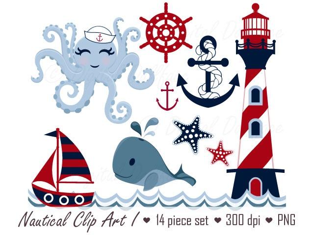 Nautical Clipart I.