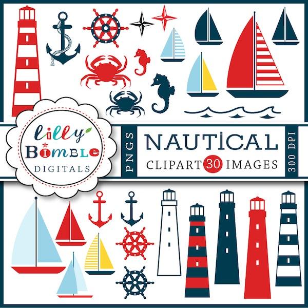Nautical clip art free.