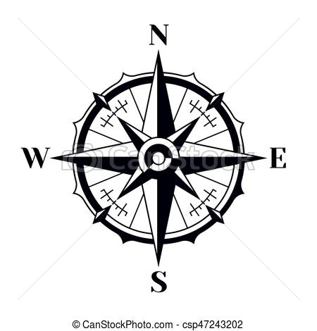 Nautical compass clipart 4 » Clipart Station.