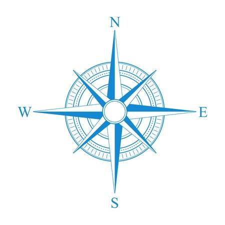 18,090 Nautical Compass Stock Vector Illustration And.