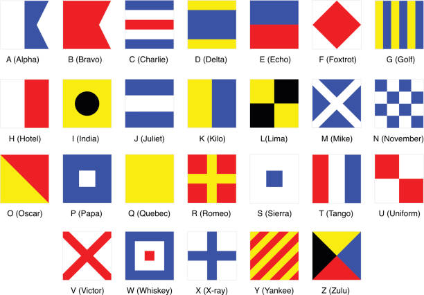 Best Nautical Flag Illustrations, Royalty.