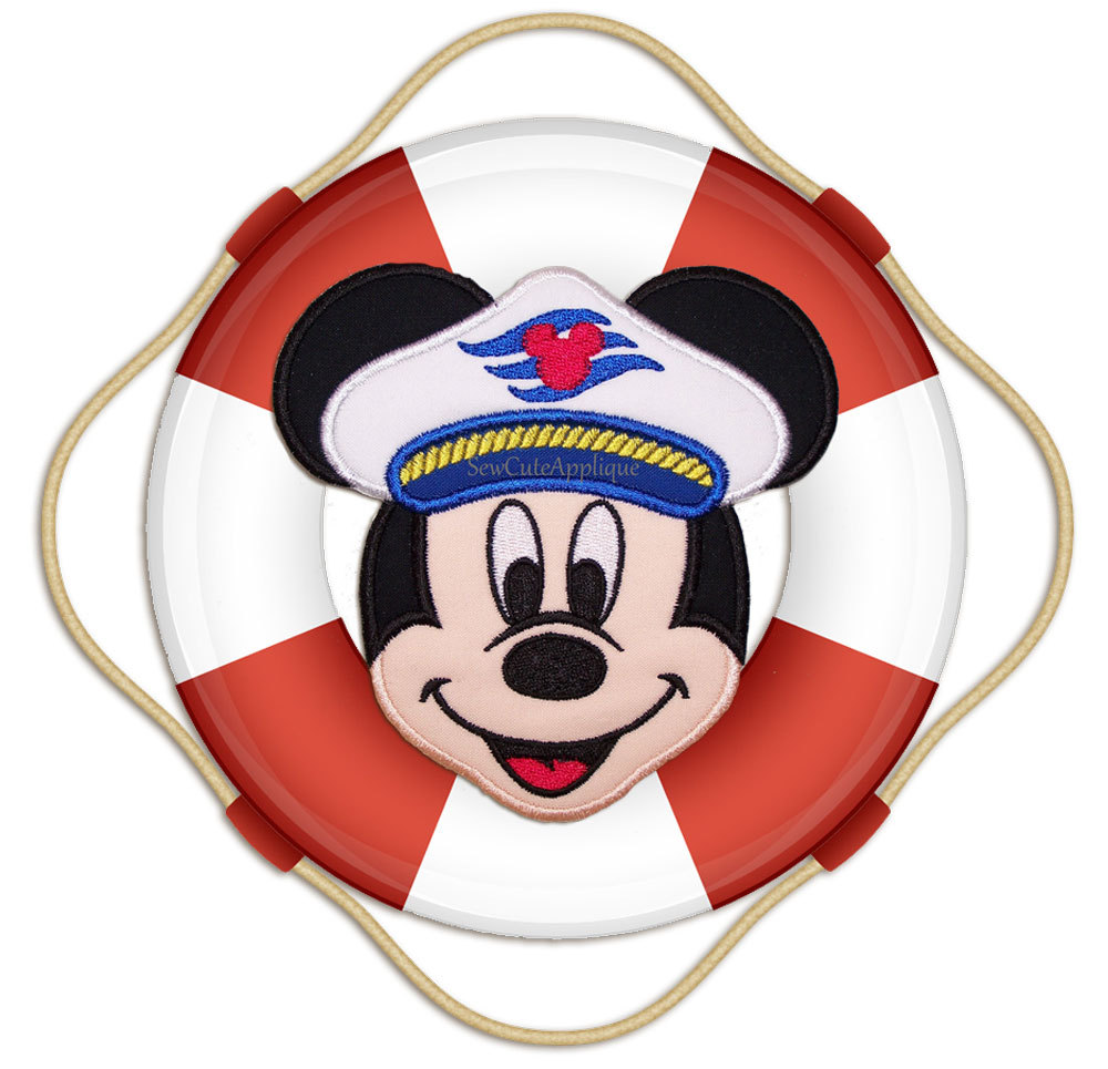 Printable DIY Sailor first mate Mickey Mouse digital clip art by.