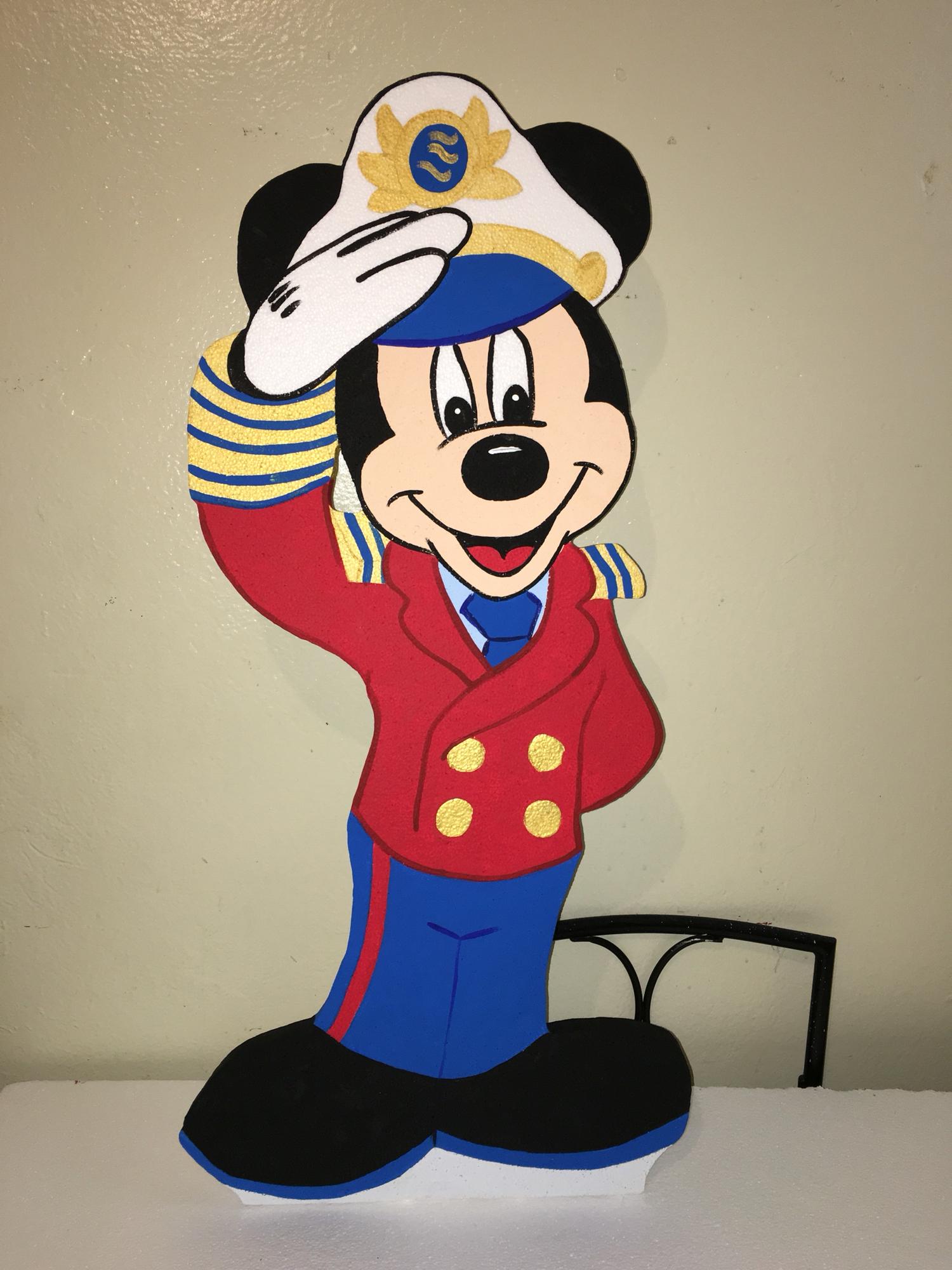 Mickey Nautical sailor lighthouse boat.