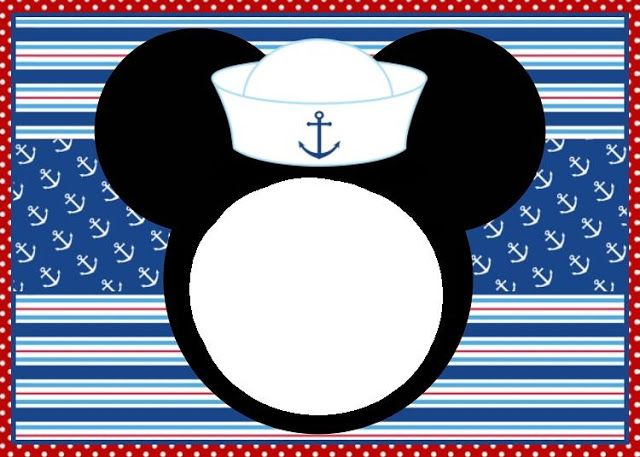 17 Best images about Nautical Mickey Mouse Birthday (Matt's 2nd.