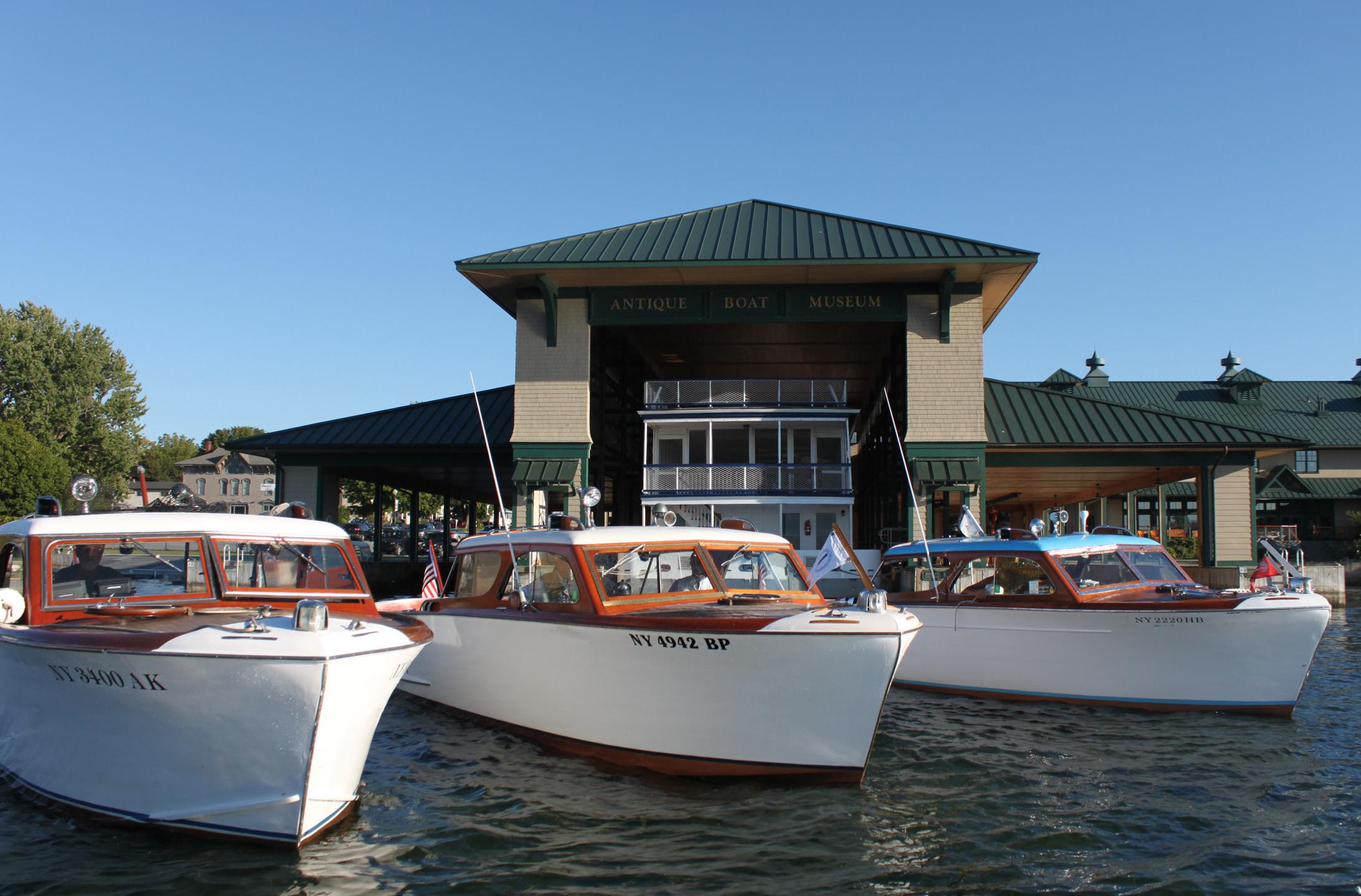 Antique Boat Museum.