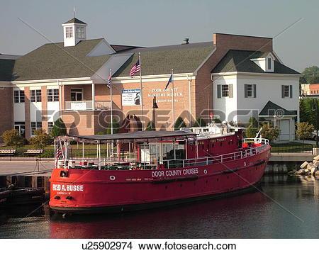 Stock Photo of Sturgeon Bay, WI, Wisconsin, Door County Maritime.
