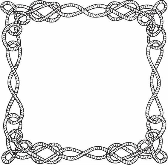 Nautical Rope Clip Art Free.