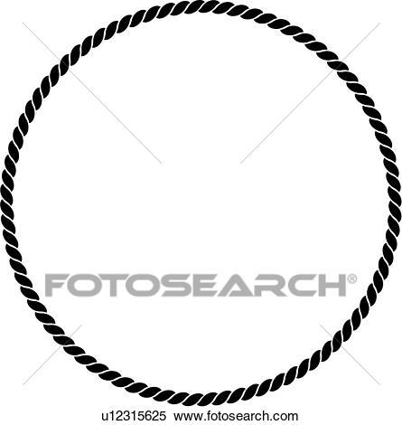 , basic, blank, border, circle, fancy, frame, nautical, panel, wreath,  rope, shapes, sign, Clipart.