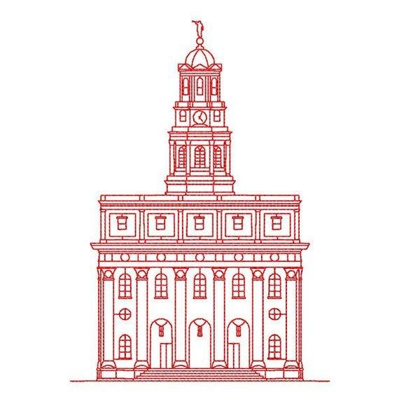 Nauvoo temple clipart 7 » Clipart Portal.