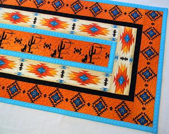 Navajo table runner.