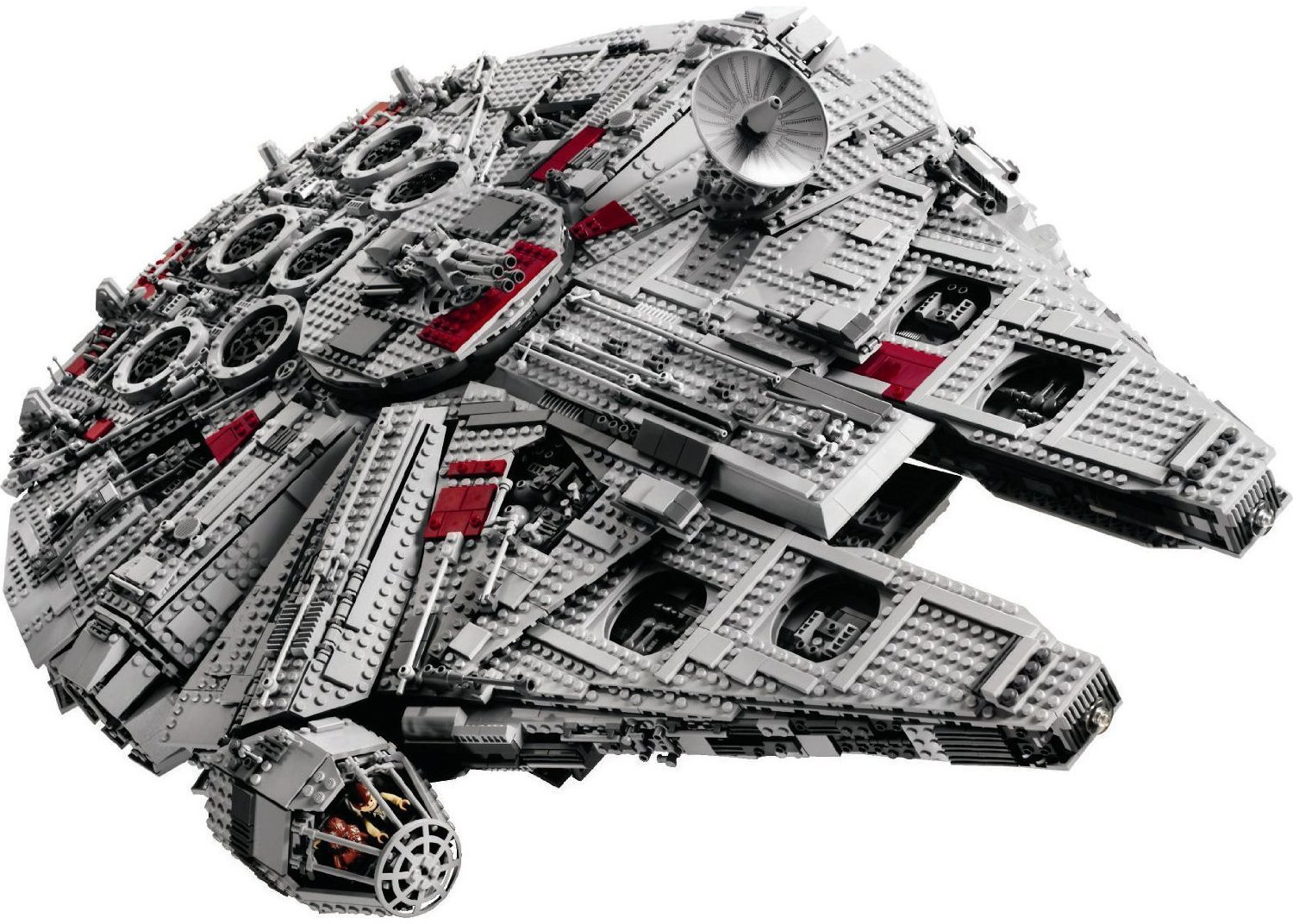 Witness the birth of a Lego Millennium Falcon.