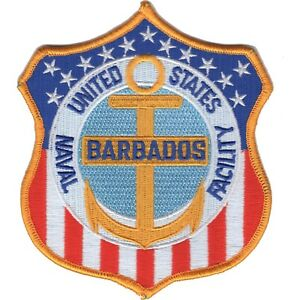 Details about US Naval Facility BARBADOS NAVFAC Military Patch.