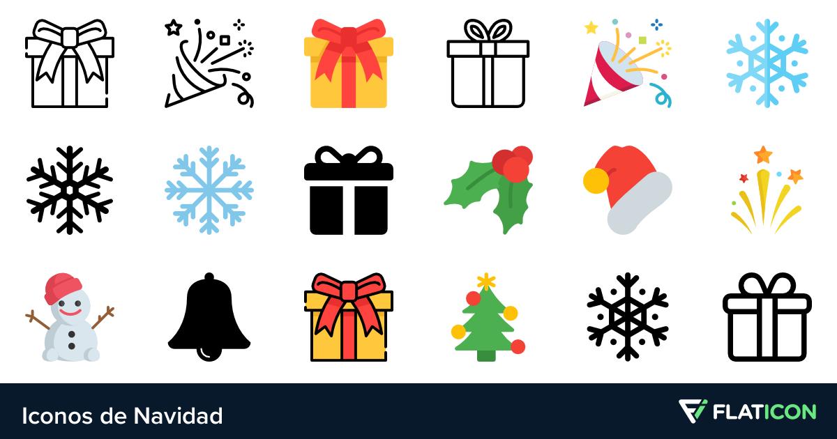 Iconos de Navidad.