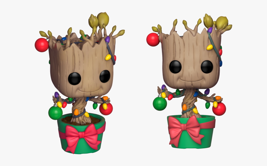 Funko Pop Groot Navidad Clipart , Png Download.