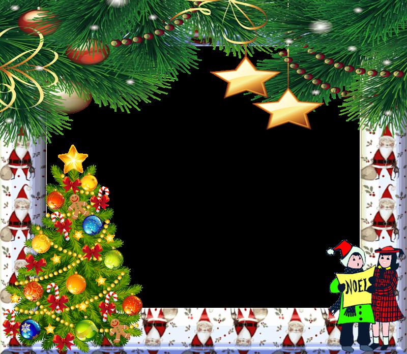 HD Marco Navidad Png Fondo Transparente.