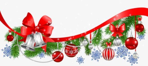 Decoracion De Navidad Fondo Transparente.