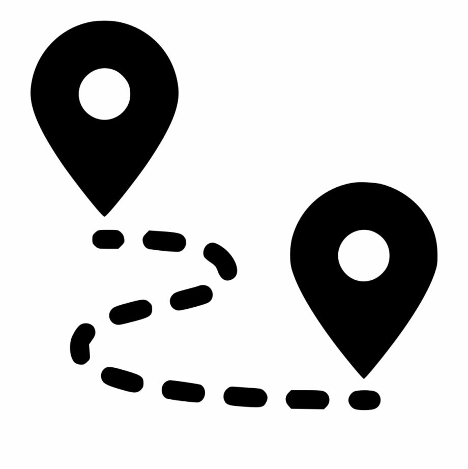 Navigation Vector Map Icon.