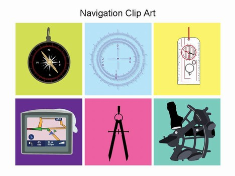 Navigation Clip Art.