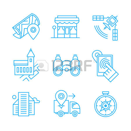 1,843 Local Navigation Stock Vector Illustration And Royalty Free.