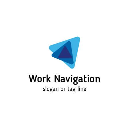 Work Navigation Logo Template.