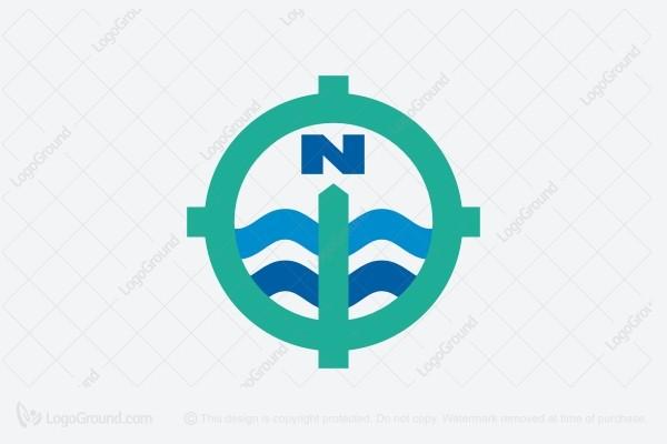 Exclusive Logo 53913, Navigation Travel Logo.