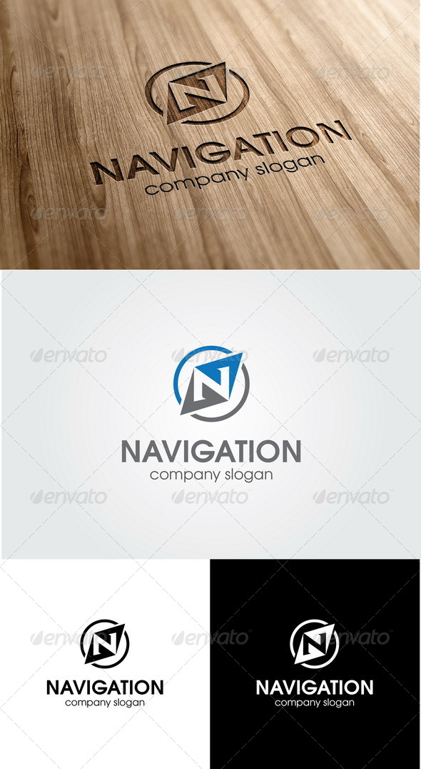 Navigator Business Logo Templates from GraphicRiver.