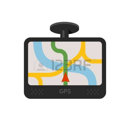 Navigation System Stock Vector Illustration And Royalty Free.