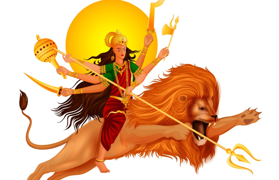 Navratri PNG Images Transparent Free Download.