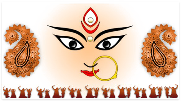 Navratri PNG Image With Transparent Background.