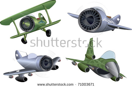 Military Cartoons Stock Images, Royalty.
