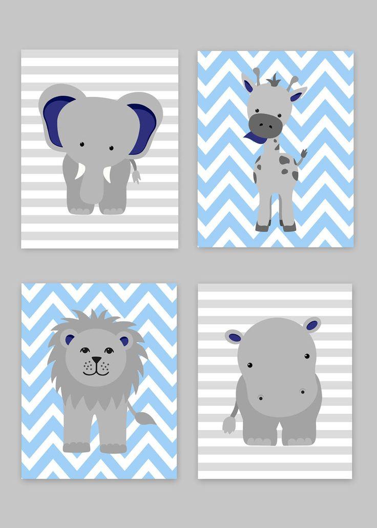 25+ best ideas about Grey Blue Nursery on Pinterest.