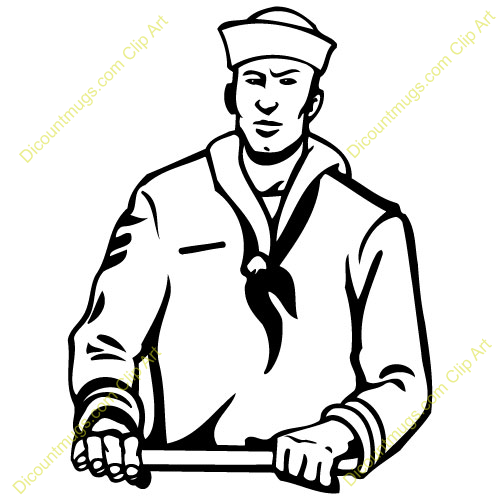 Navy Soldier Clipart.