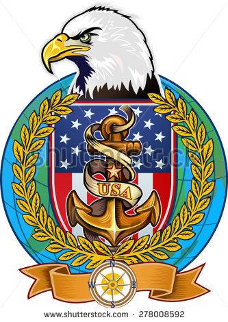 Anchor Eagle Stock Vectors & Vector Clip Art.