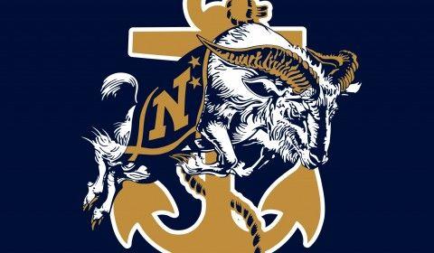 Navy Football Logo Wallpaper.
