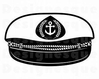Sailor hat clipart.