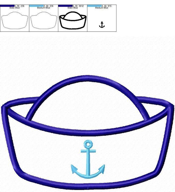 Navy hat clipart 5 » Clipart Portal.