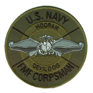 Navy Hospital Corpsman Challenge Coin.