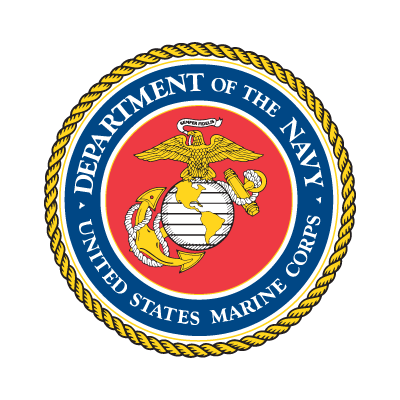 Department of the Navy logo vector free.