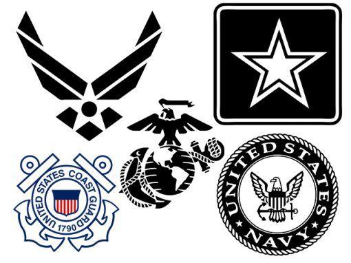 Military Logos Vector.