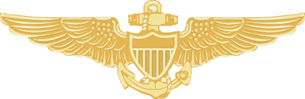 Naval Aviator Wings Clip Art.