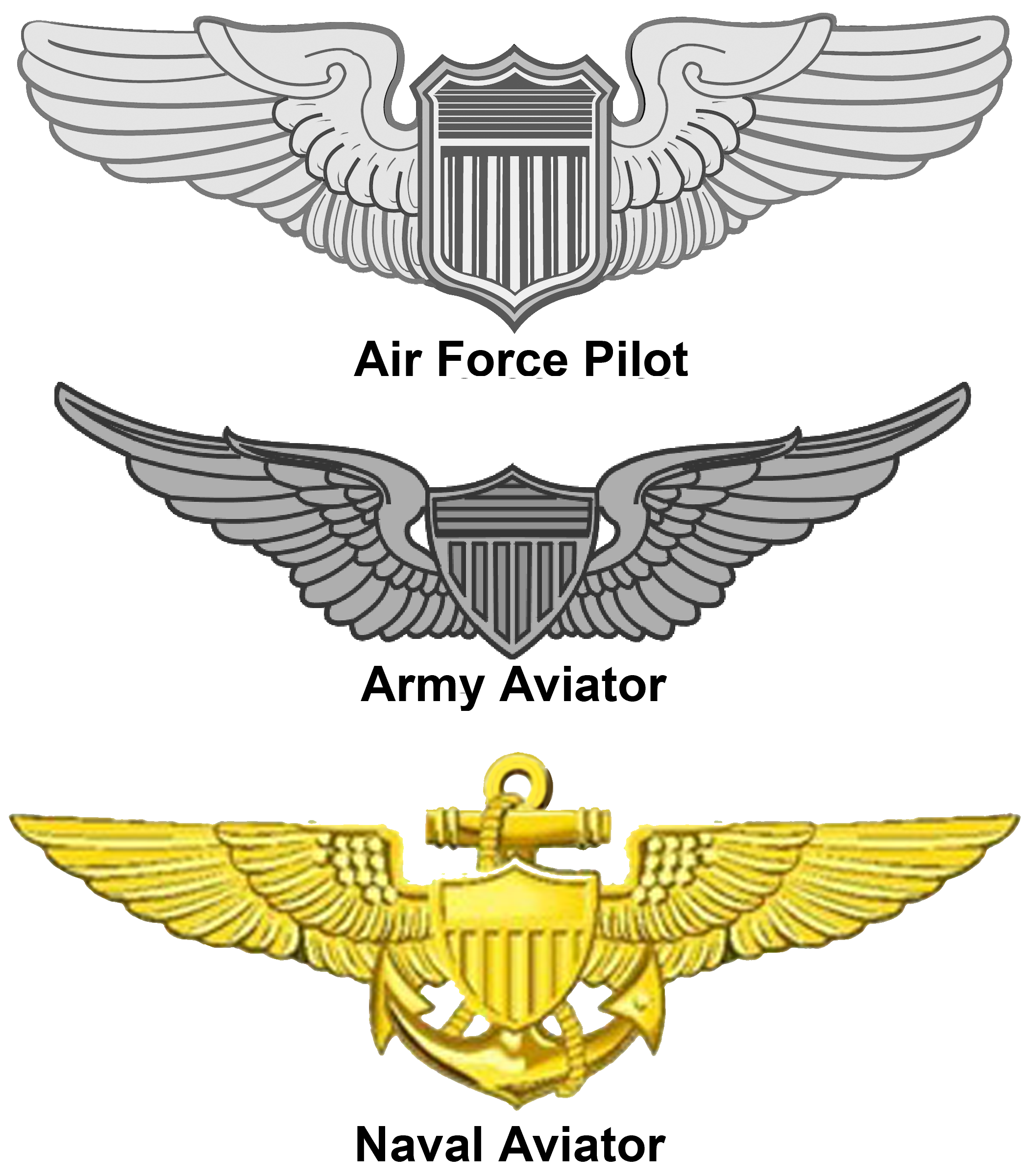 United States Aviator Badge.